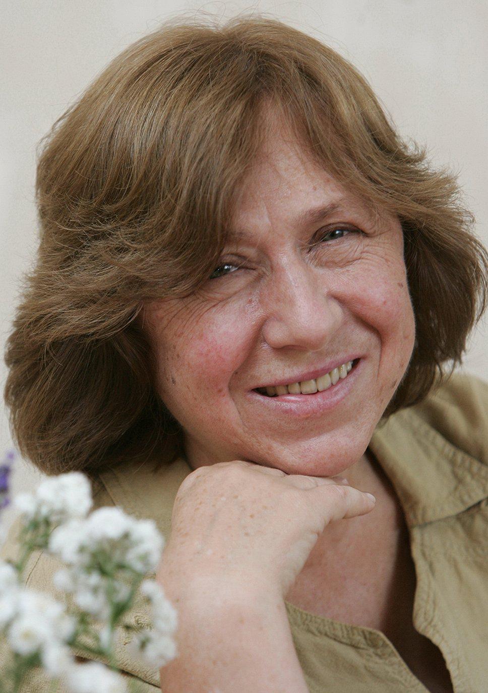 Светлана Алексиевич, писатель