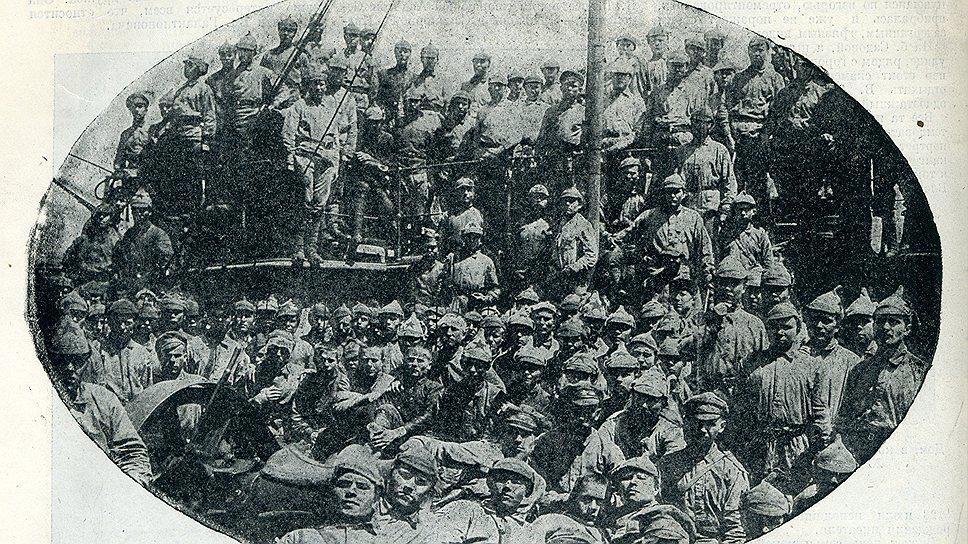 Остатки дружины Пепеляева были блокированы в 30 километрах от Охотска, для их поимки было выделено 2 тысячи красноармейцев под командованием краскома Вострецова