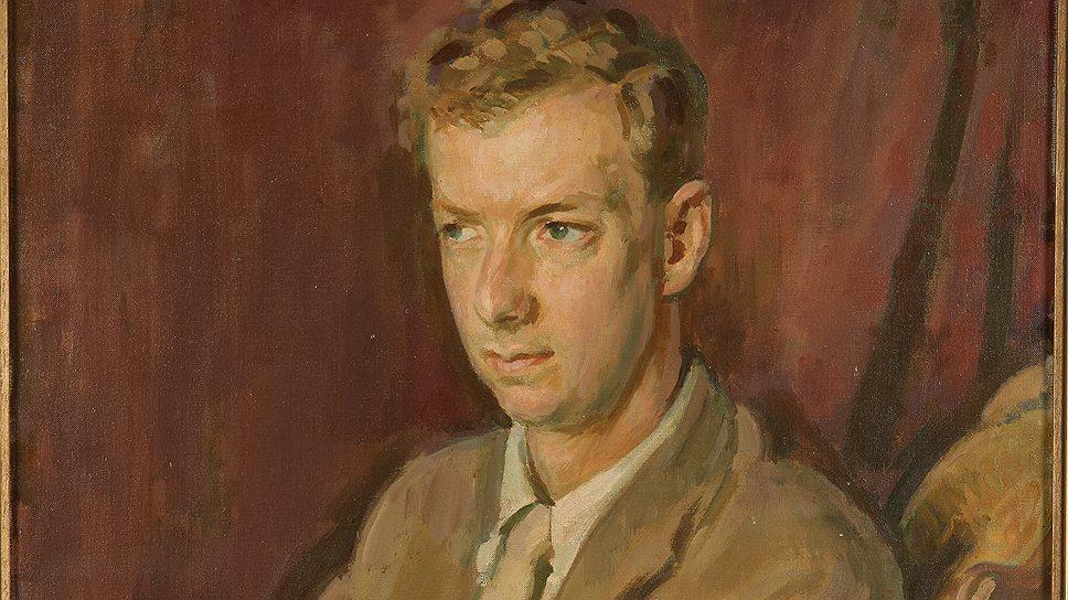"""Генри Лэмб. """"Портрет Бенджамина Бриттена"""". 1945 год"""