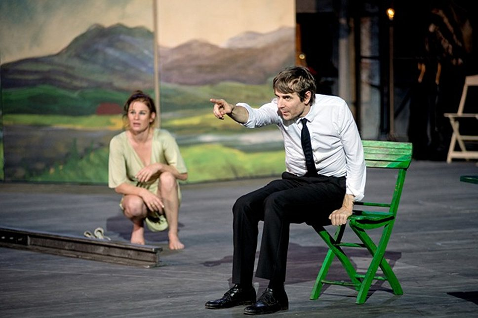 """Burgtheater Wien со спектаклем """"Счастливые дни Аранхуэса"""""""