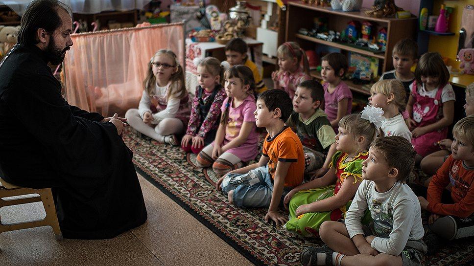 Теперь духовное воспитание начинается в детском саду