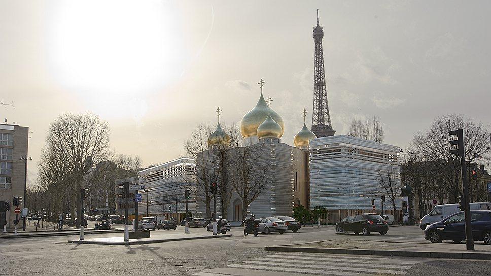 Проект духовно-культурного российского центра архитектора Жан-Мишеля Вильмотта устроил и Москву, и Париж. Теперь слово за жителями VII округа столицы Франции