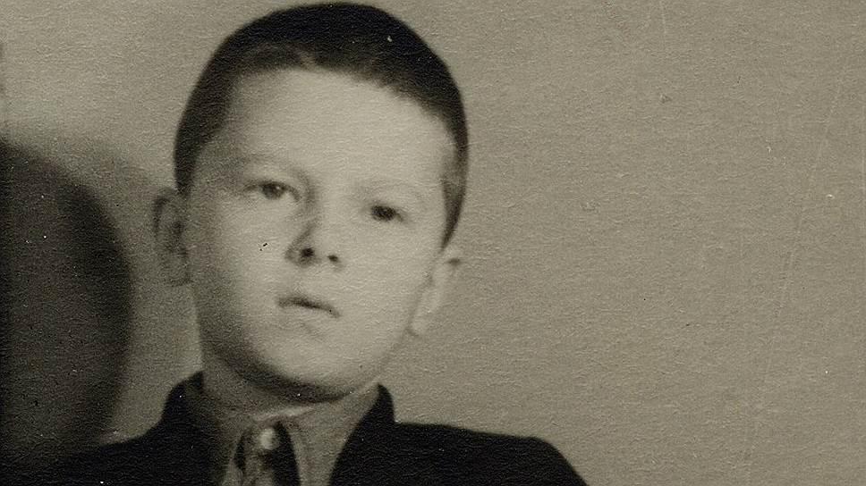 Евгений Асс в детстве