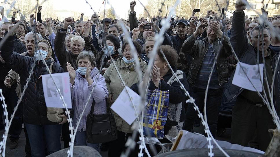 Донецк, 8 апреля. Майдан до Киева доведет?
