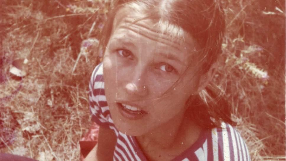 Ингеборга Дапкунайте в юности. 1983 год