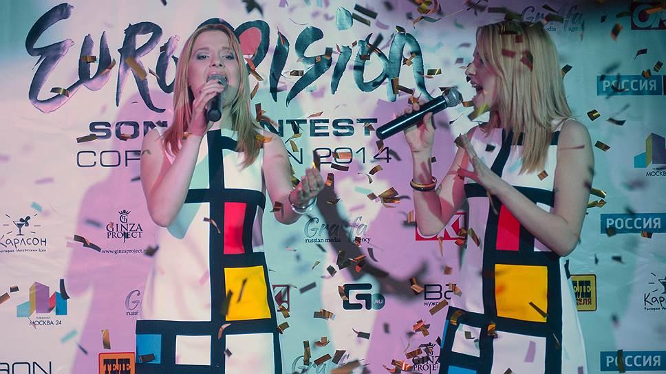 """В этом году представлять Россию на """"Евровидении"""" будут Мария и Анастасия Толмачевы (на фото)"""