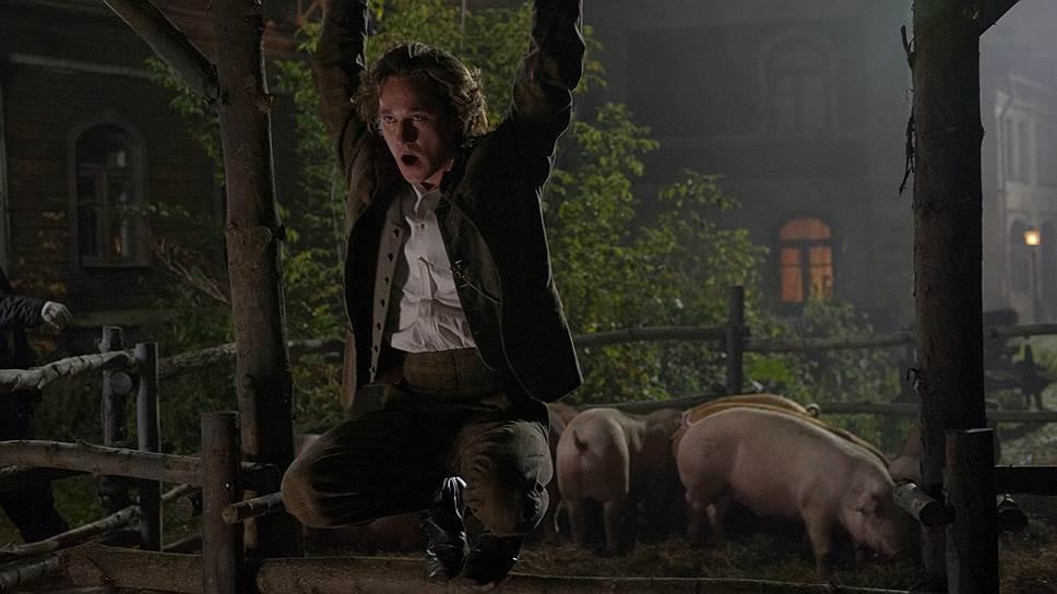 """Библейские аллюзии в """"Бесах"""" очевидны — свиньи в загоне напоминают об известной притче про бесов"""