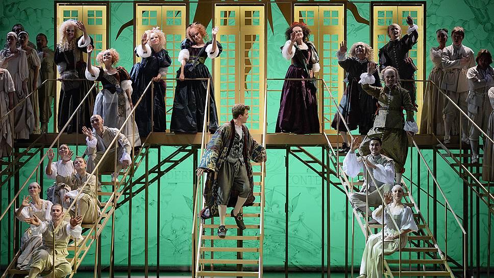 """Юмористические стихи для хоров должны были структурировать """"Школу жен"""", но прочнее от этого опера не стала"""