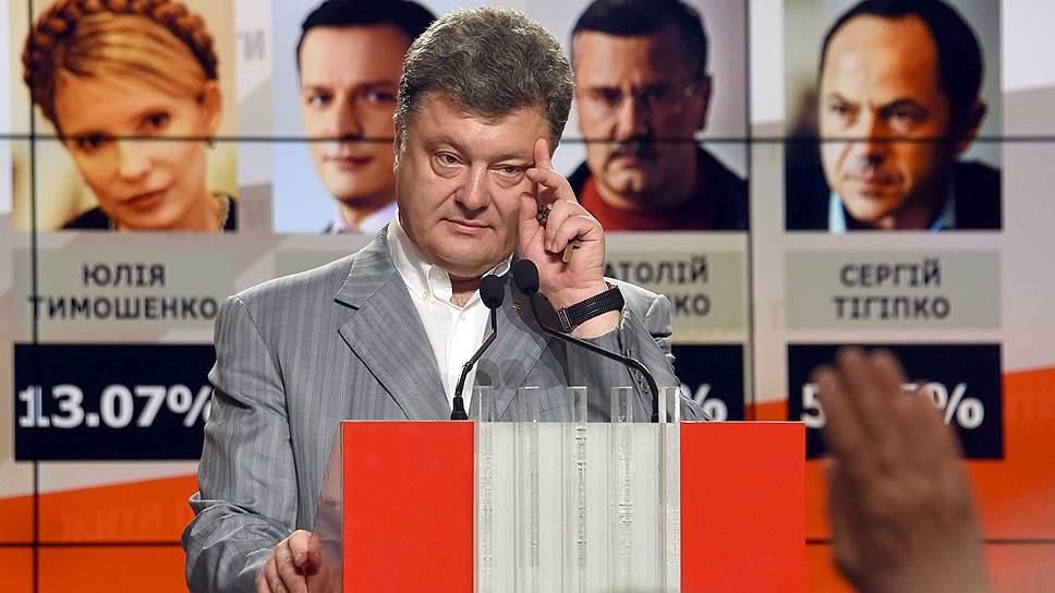 Давно президента Украины не выбирали в первом туре