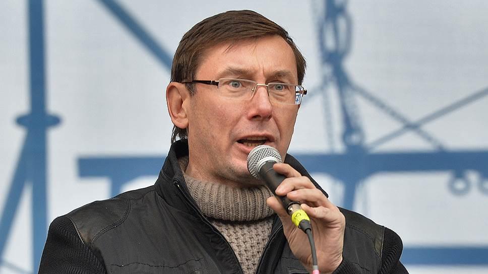 Партийный проект Порошенко прочат бывшему главе МВД в правительстве Тимошенко Юрию Луценко