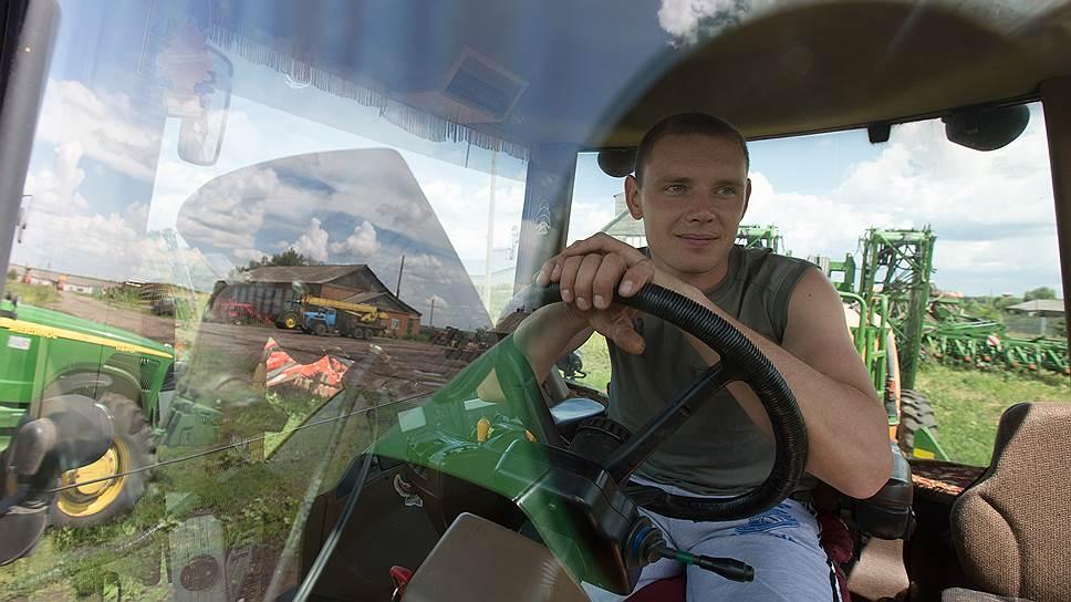 В следующем году Андрей Шаль представит Россию на мировом чемпионате по пахоте в Дании