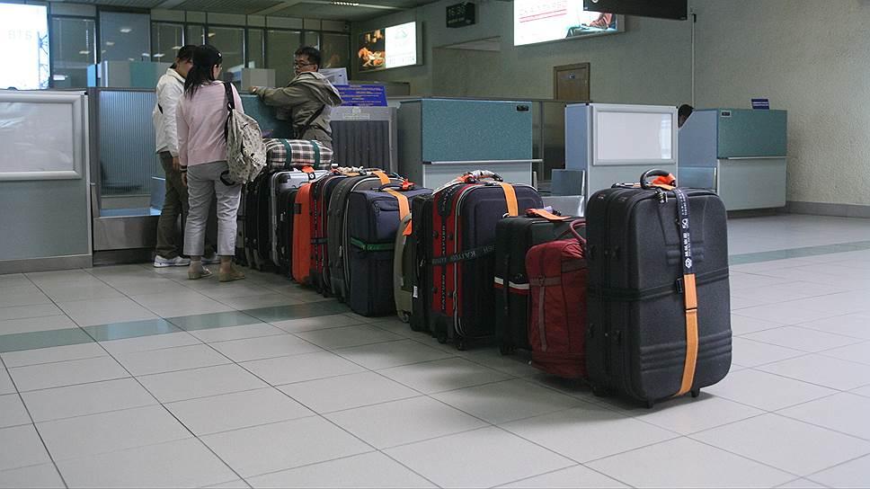 Сдавая в багаж свой чемодан, будьте готовы к чьему угодно