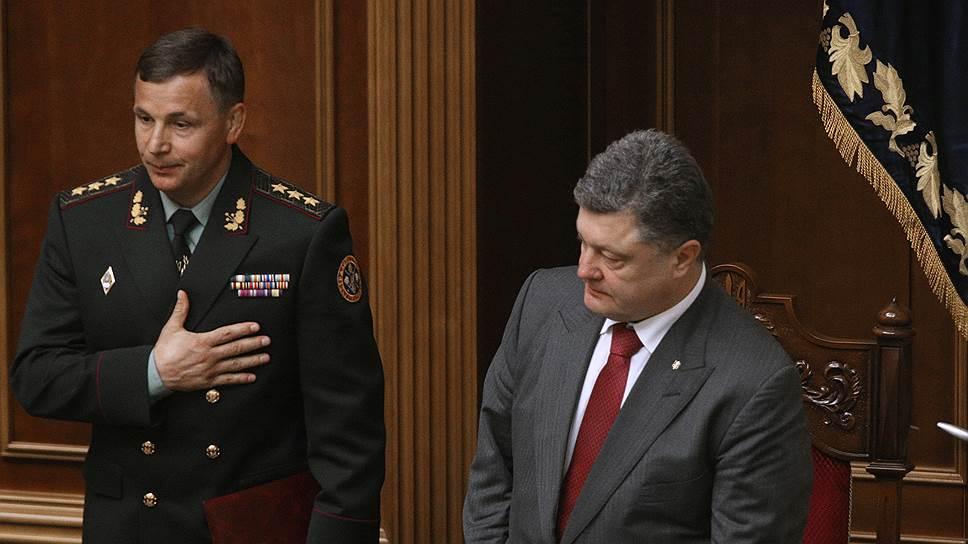 Гелетей рвался в бой, чтобы доказать свою нужность Петру Порошенко