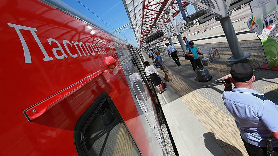 """Поезд """"Ласточка"""" не только скоростной и комфортный, но и экономичный"""