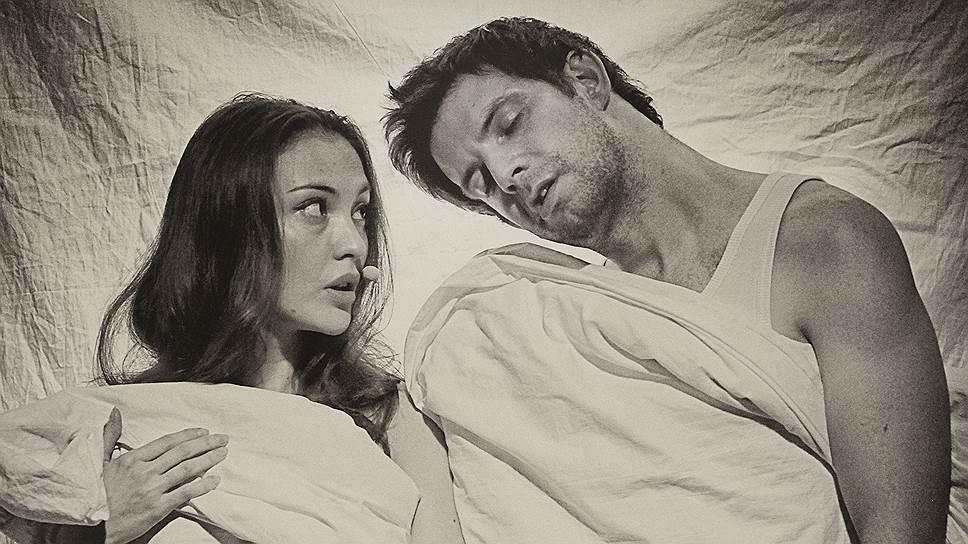 """Будущая жизнь героев """"Девяти дней одного года"""" происходит словно во сне, они толком даже не успевают проснуться (на фото — сцена из спектакля """"Девять"""")"""