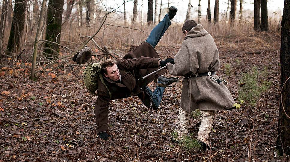 Столкновение двух мифов - нерв фильма