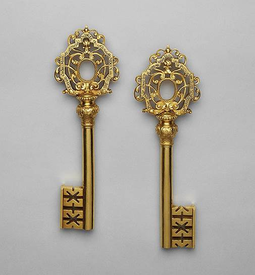 Ключ крепостной от г. Риги. 1710 год