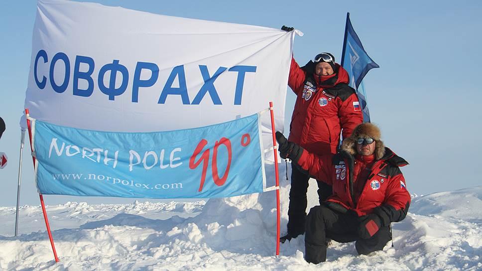 """Руководство """"Совфрахта"""" на Северном полюсе. Если возишь грузы в Арктике, стоит узнать ее поближе"""