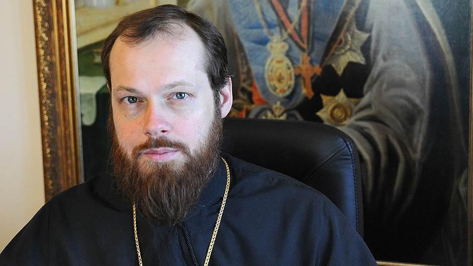 Игумен Филипп (Рябых), представитель Московского патриархата при Совете Европы
