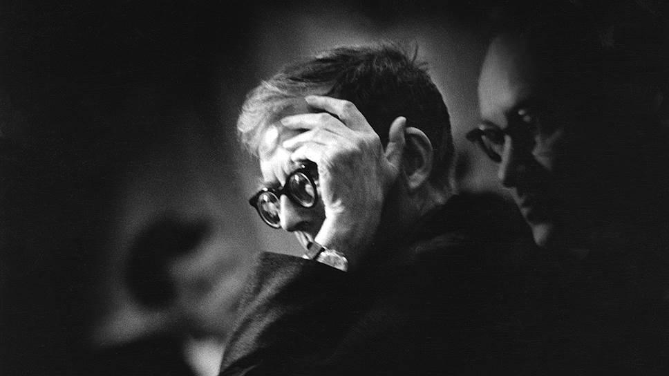 Композитор Дмитрий Шостакович. 1970 год. Фото Евгения Кассина