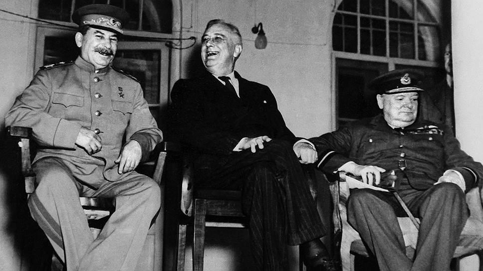 Неизвестное фото исторической встречи в Тегеране, 1943 год