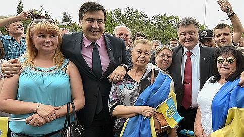 Грузинский призыв  / Что Украина доверила Михаилу Саакашвили и его соратникам? Разбирался Павел Шеремет
