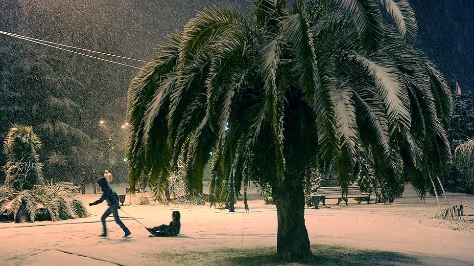 Возможно, в скором будущем мы перестанем удивляться снегопадам в Сочи