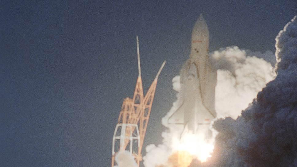 """Старт ракетно-космической системы """"Энергия"""" — """"Буран"""", 1988 год"""
