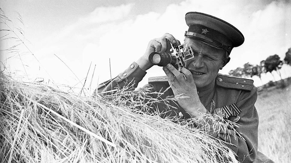 Фотограф Михаил Савин. 1940-е годы