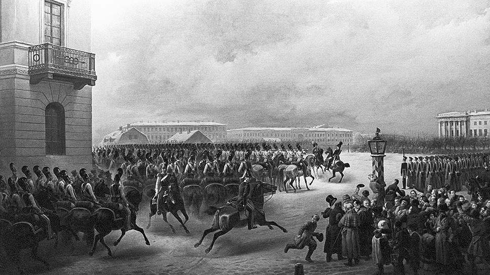 """Чтобы вывести солдат на площадь, декабристам пришлось объявить Николая I """"самозванцем"""", а настоящим царем назвать Константина"""