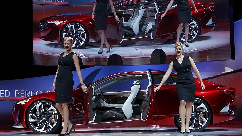 Самые громкие премьеры нынешнего Детройта — машины класса люкс