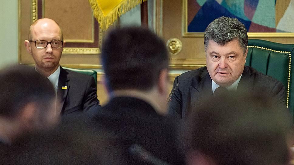 Петр Порошенко считает, что кабмин нужно перезагрузить, но министры-реформаторы должны остаться