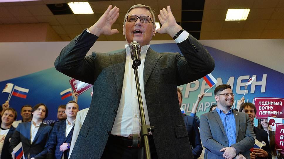 Либералы готовятся: выдвигаются и по партспискам, и по одномандатным округам