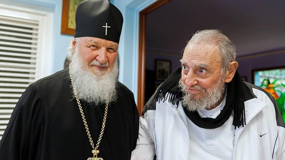Весна патриархов: встреча Фиделя Кастро и главы РПЦ