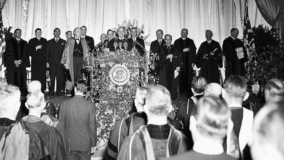 Фултонская речь Уинстона Черчилля стала историей. И изменила историю