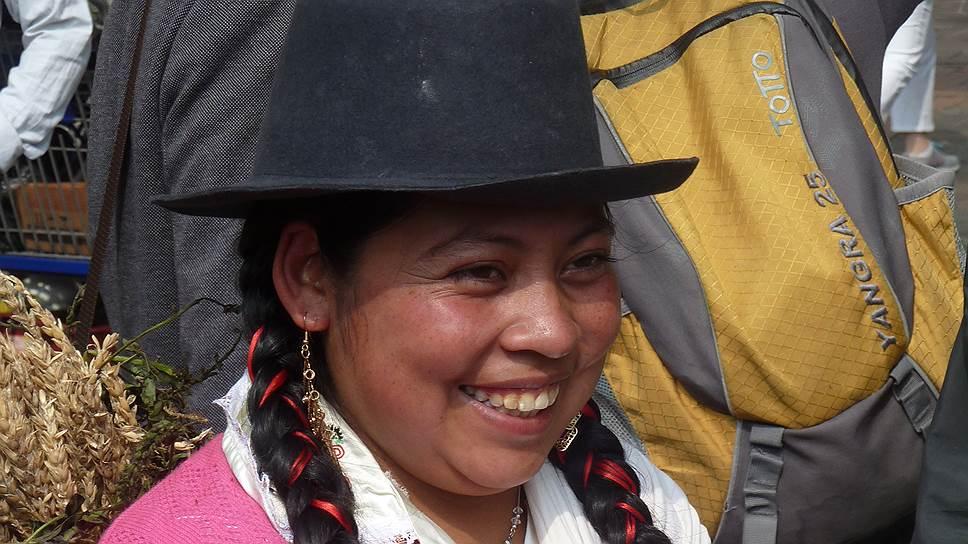 Колумбийская красавица