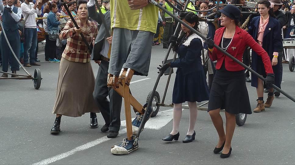 В театральном фестивале в Боготе впервые участвуют уличные театры