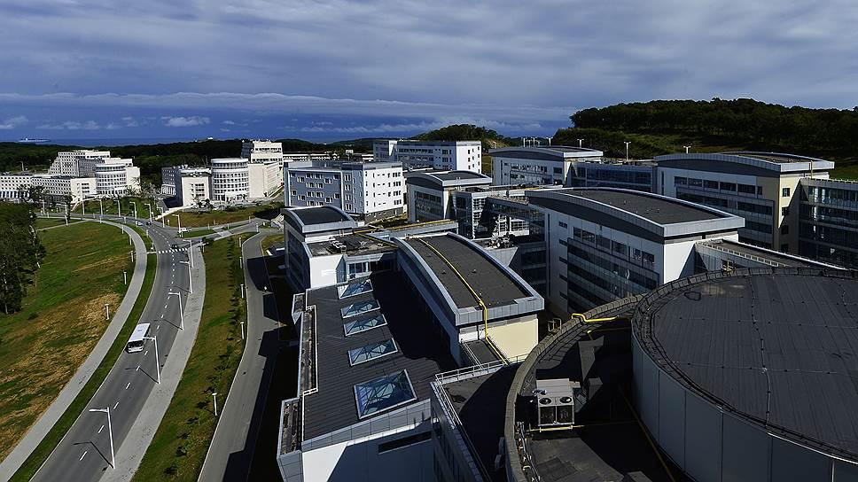 Дальневосточный федеральный университет на острове Русском — большое хозяйство. И дорогое
