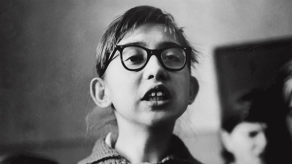 """Антанас Суткус. """"Школа для слепых детей. Песня"""". 1962 год"""