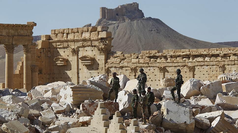 О перспективах восстановления памятников Пальмиры
