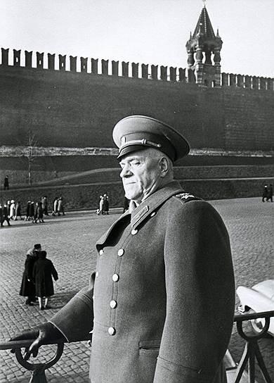 Георгий Константинович Жуков (фото 1957 года)