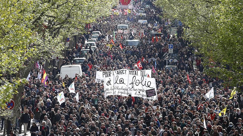 Весеннее наступление французских трудящихся: гостям Евро скорее всего представится шанс увидеть своими глазами, что такое французский бунт, осмысленный и беспощадный