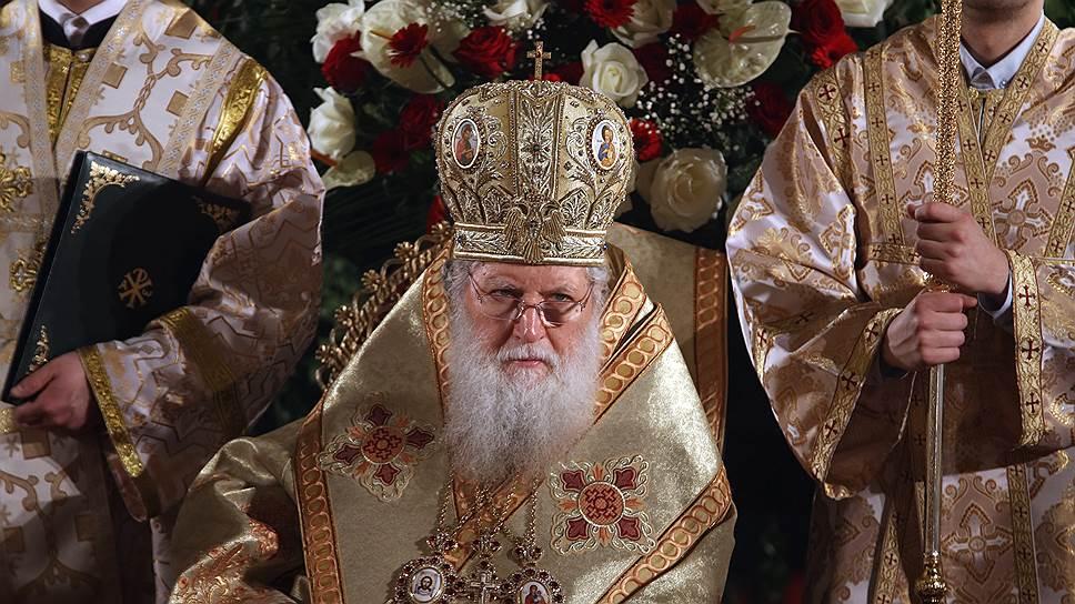 Болгарская церковь не первый раз ставит под вопрос проведение собора. На фото: патриарх Болгарский Неофит