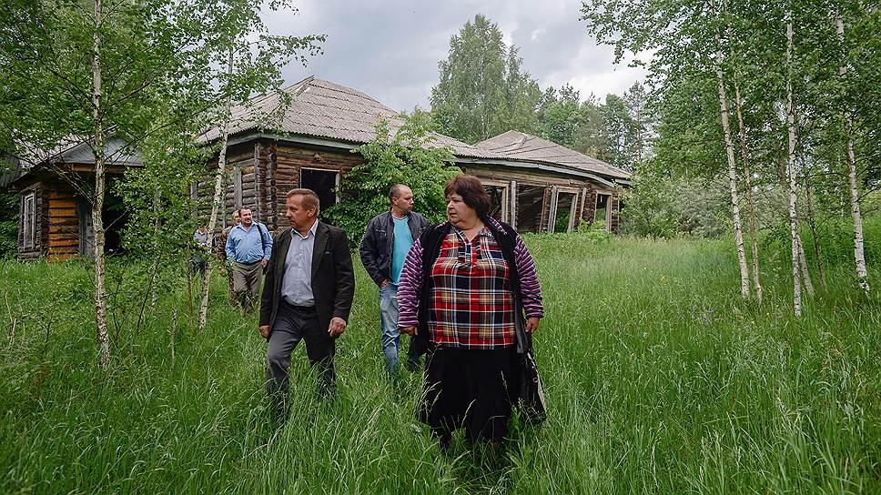 Руины сельской школы как малая родина