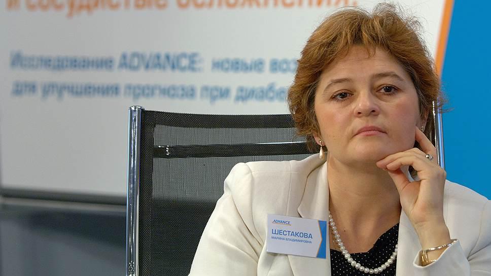 Марина Шестакова, директор Института диабета Минздрава РФ