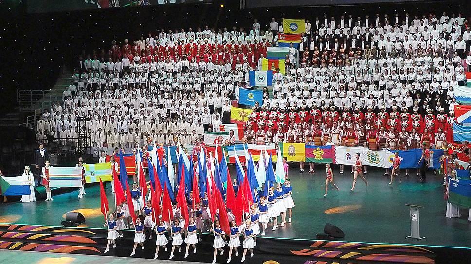 Россия впервые принимает Всемирные хоровые игры
