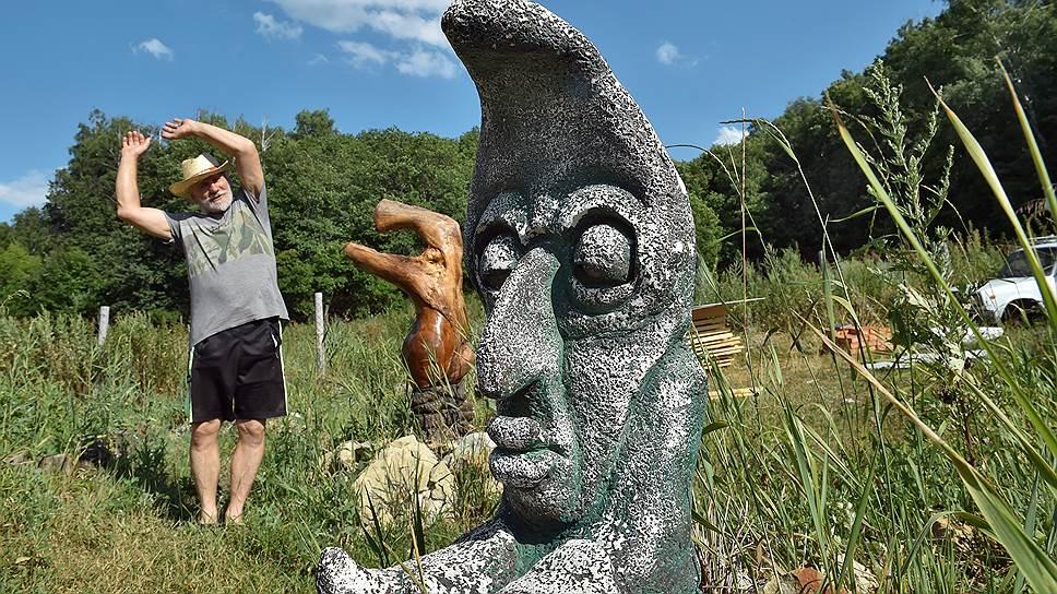 У каждой из созданных Юрием скульптур своя история
