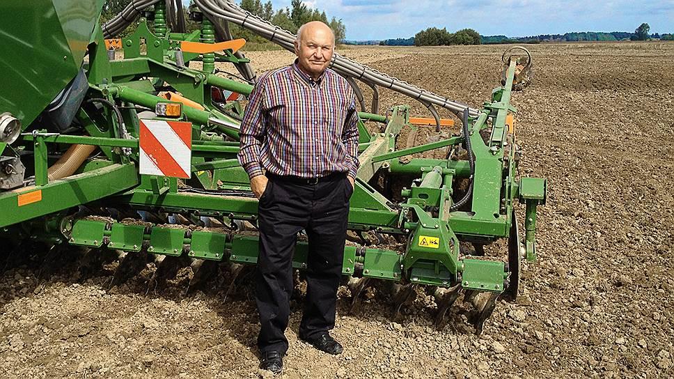 Август для агрария Юрия Лужкова-- ответственная пора