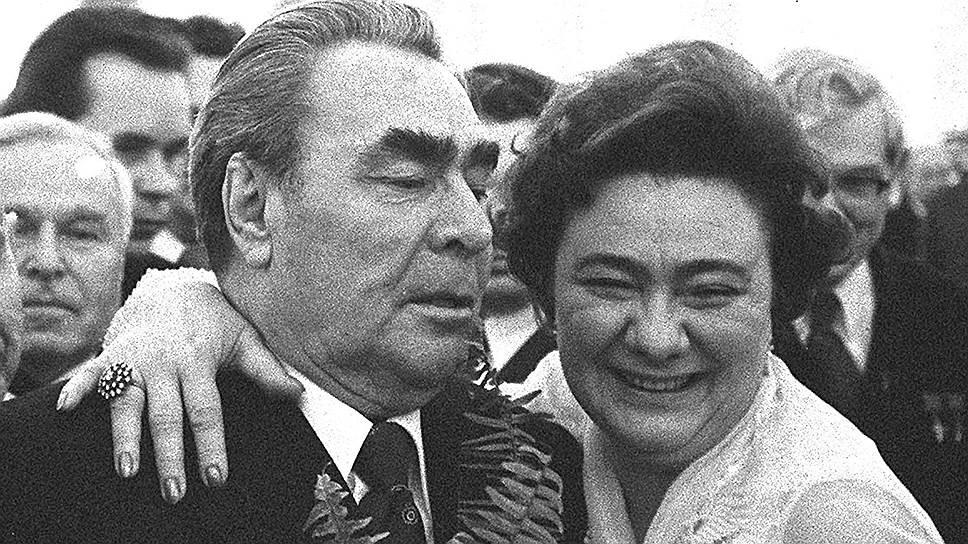 Галина Брежнева была очень похожа на своего отца