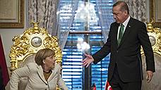 Ангела Меркель оказалась на острие турецких противоречий с ЕС